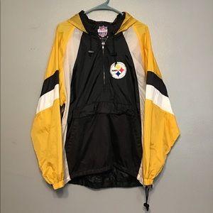 Vintage 90's Pittsburgh Steelers windbreaker